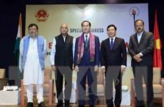 Chủ tịch nước nói chuyện trước các chính khách, học giả Ấn Độ