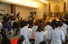 Đại lễ cầu siêu tại Tokyo cho các chiến sỹ hy sinh trong trận Gạc Ma