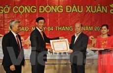 Gặp mặt bà con người Việt Nam tại Macau nhân dịp đầu Xuân mới
