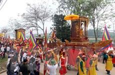 Người dân Nghệ An nô nức trẩy hội đền Quả Sơn dịp đầu Xuân