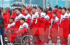 Hàn Quốc thông qua khoản ngân sách hỗ trợ Triều Tiên dự Paralympic