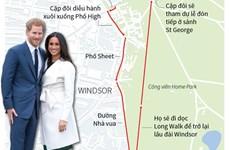 [Infographics] Thông tin chính thức về hôn lễ của Hoàng tử Anh Harry