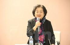 Đoàn Quỹ Học bổng Vừ A Dính gặp đại diện cộng đồng tại Hàn Quốc