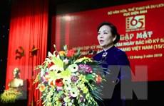 Cục Điện ảnh vinh dự đón nhận Huân chương Lao động hạng Nhì