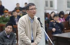 Con trai của Trịnh Xuân Thanh kháng cáo, đề nghị được trả lại tài sản