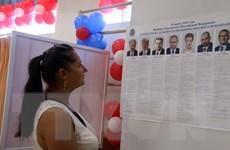 Công dân Nga tại Việt Nam vui mừng đi bỏ phiếu bầu cử Tổng thống