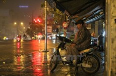 Các tỉnh miền Bắc có mưa nhỏ, mưa phùn, nhiệt độ về đêm 19 độ C