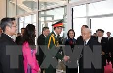 Chuyến thăm của Tổng Bí thư góp phần nâng cao hợp tác Việt-Pháp