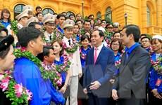 Chủ tịch nước gặp mặt các cán bộ Đoàn xuất sắc tiêu biểu toàn quốc