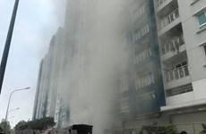 Kiểm tra hệ thống phòng cháy sau vụ hỏa hoạn tại chung cư Carina