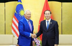 Thư mừng dịp 45 năm thiết lập quan hệ ngoại giao Việt Nam-Malaysia
