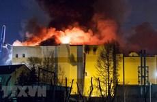 Vụ cháy trung tâm thương mại ở Nga: Khởi tố 7 người liên quan