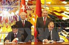 Thông tấn xã Việt Nam tăng cường hợp tác với các đối tác Cuba