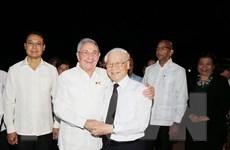 Một số hình ảnh Tổng Bí thư Nguyễn Phú Trọng thăm Cộng hòa Cuba