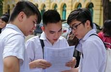 Thi THPT Quốc gia: Không thu giá dịch vụ dự thi với tất cả thí sinh