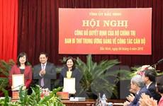 Bà Đào Hồng Lan được luân chuyển làm Phó Bí thư Tỉnh ủy Bắc Ninh