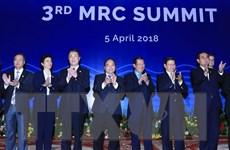 [Photo] Thủ tướng dự khai mạc Phiên toàn thể Hội nghị cấp cao MRC
