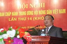 Ông Đinh Khắc Đính được bầu làm Phó Chủ tịch Trung ương Hội Nông dân