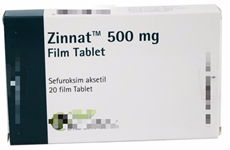 Bộ Y tế cảnh báo về loại thuốc giả Zinnat 500mg Film Tablet