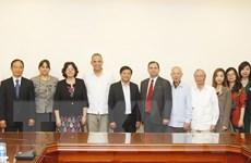 Thúc đẩy hơn nữa tình đoàn kết, hữu nghị giữa Việt Nam-Cuba