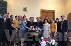Đại sứ Việt Nam tại Liên bang Nga chúc mừng Tết cổ truyền của Lào