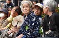 Số người trên 65 tuổi chiếm tới gần 1/3 dân số của Nhật Bản