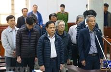 Sáu bị cáo kháng cáo trong vụ vỡ đường ống nước sông Đà