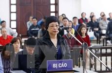 Bị cáo Châu Thị Thu Nga nói lời sau cùng, đề nghị hủy án sơ thẩm
