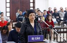 Y án tù chung thân với Châu Thị Thu Nga, giảm nhẹ cho một số bị cáo
