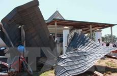 Yên Bái: Hơn 200 ngôi nhà ở Mù Cang Chải bị tốc mái do mưa lốc