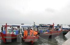 Quảng Ninh: Bắt giữ 5 tàu khai thác thủy sản trái phép tại Trà Cổ