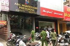 Đình chỉ hoạt động Cơ sở mầm non ABC có giáo viên bạo hành trẻ
