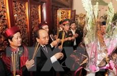 Phú Thọ: Tổ chức trọng thể lễ dâng hương tưởng niệm các Vua Hùng
