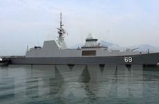 Tàu khu trục của Hải quân Singapore thăm xã giao thành phố Đà Nẵng