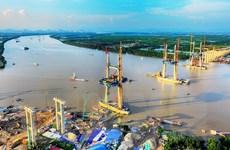 Chính thức hợp long cầu Bạch Đằng nối Quảng Ninh và Hải Phòng