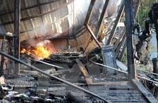 Đà Lạt: Hỏa hoạn thiêu rụi quán càphê cùng 10 chiếc xe máy cổ