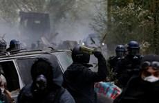 Hơn 100 người bị bắt giữ sau cuộc biểu tình bạo lực tại Pháp