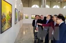 Triển lãm tranh đương đại của họa sỹ Nguyễn Minh Sơn tại Algeria