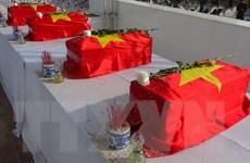 Tổ chức lễ truy điệu, an táng 98 hài cốt liệt sỹ hy sinh tại Lào