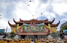 Chủ tịch Ủy ban Mặt trận Tổ quốc gửi thư chúc mừng Đại lễ Phật đản