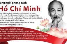 [Infographics] Sáng ngời phong cách Chủ tịch Hồ Chí Minh