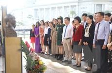 Hoạt động kỷ niệm ngày sinh Bác Hồ tại Singapore, Nhật Bản và Nga