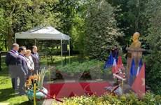 Trang trọng kỷ niệm 128 năm ngày sinh Chủ tịch Hồ Chí Minh tại Pháp