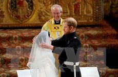Những hình ảnh về hôn lễ long trọng của Hoàng tử Anh Harry