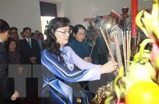 TP.HCM dâng hoa tưởng niệm nhân Ngày sinh Chủ tịch Hồ Chí Minh
