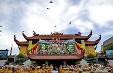 Trưởng Ban Dân vận đến thăm Đại lão Hòa thượng Thích Phổ Tuệ