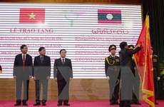 Lào tặng Huân chương Hữu nghị cho UBND tỉnh và Công an Điện Biên