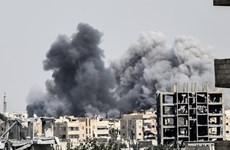 Liên quân do Mỹ đứng đầu tấn công cơ sở quân sự của Syria
