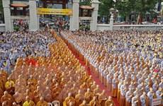 [Photo] Trang trọng tổ chức Đại lễ Phật đản ở Thành phố Hồ Chí Minh