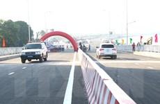 Thành phố Hồ Chí Minh chính thức thông xe cầu qua đảo Kim Cương